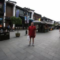 In de straat